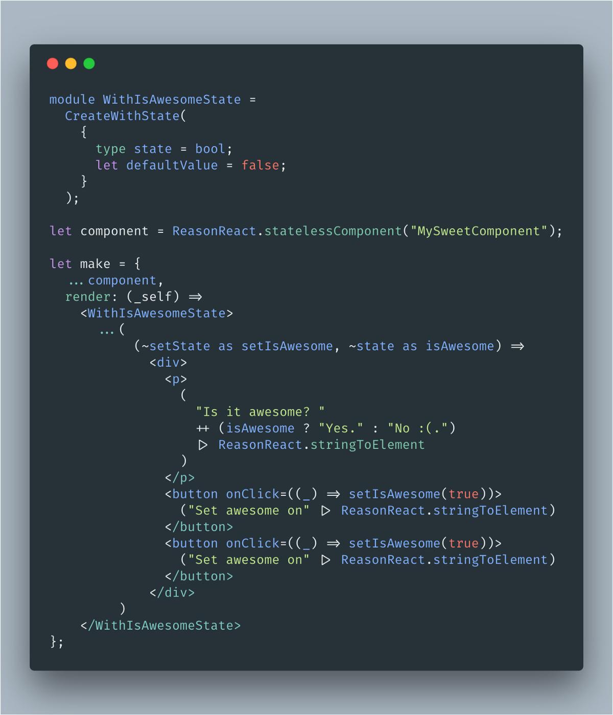 Integrating stripe react - ReasonML Forums
